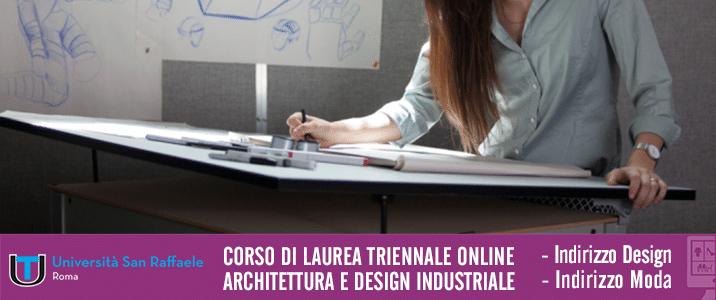 Laurea Online Architettura e Design Industriale - Università Telematica San Raffaele