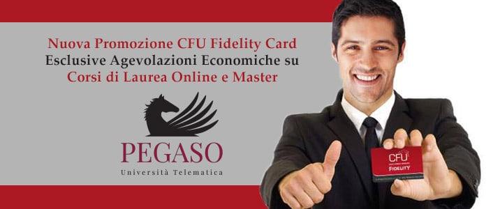 Nuova Promozione CFU Fidelity Card: Agevolazioni Economiche per i Corsi UniPegaso