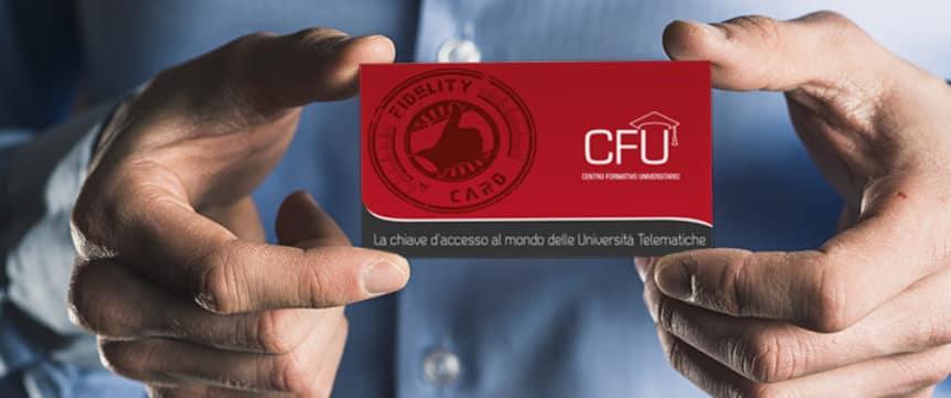Promozione CFU Fidelity Card